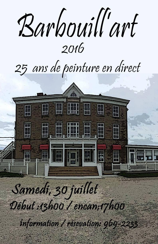 Barbouill'art 30 juillet 2016