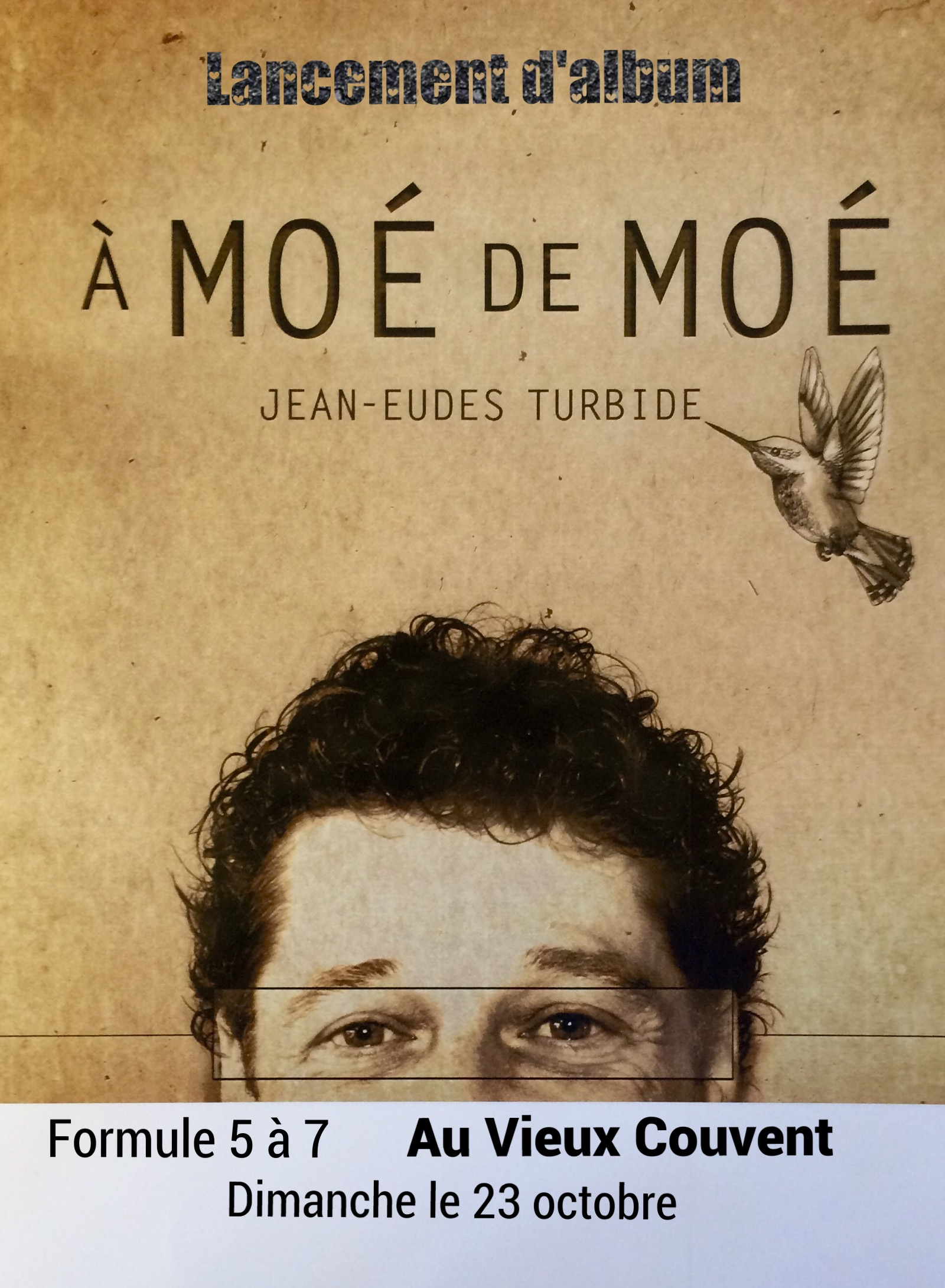Lancement d'album Jean-Eudes Thurbide